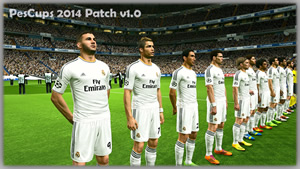PesCups 2014 Patch v1.0 + Online + Мод Ultra Графика v1.5