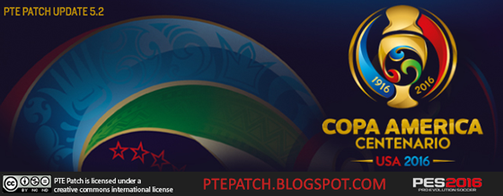 PTE Patch Update 5.2 - Copa America 2016