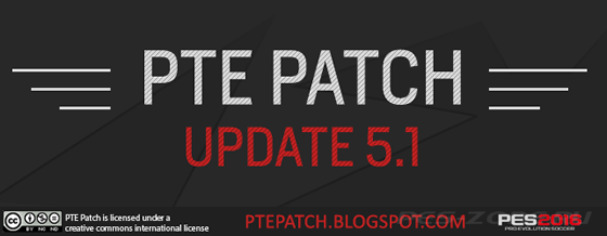 PES 16 PTE Patch Update 5.1