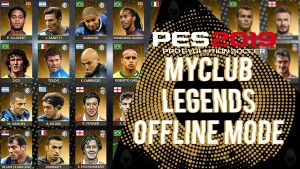 PES 2019 PC MYCLUB LEGENDS OFFLINE MODE V5
