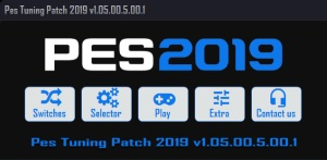 Pes Tuning Patch 2019 v1.05.00.5.00.1