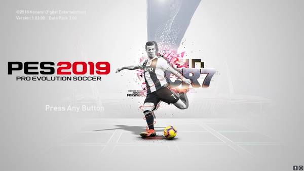 PES 2019 CR7 StartScreen by Ibrox