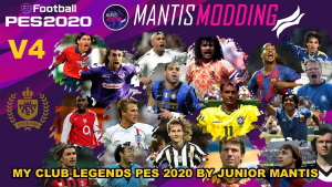 PES 2020 MyClub Legends Offline Mode V4 DLC 4.0 [PC/PS4]